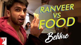 Download Ranveer vs Food | Behind The Scenes | Befikre | Ranveer Singh | Vaani Kapoor 3Gp Mp4