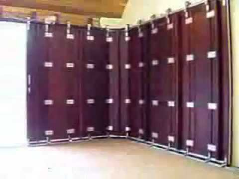 Sideways Garage Door Flv Youtube