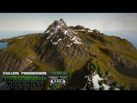 Countryside Mountains V