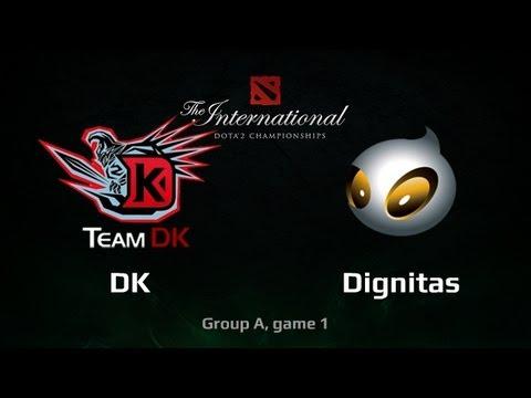 DK vs Dignitas, TI3 Group A, game 1