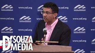 D'Souza launches brand new lecture tour by TEARING UP leftists at A&M