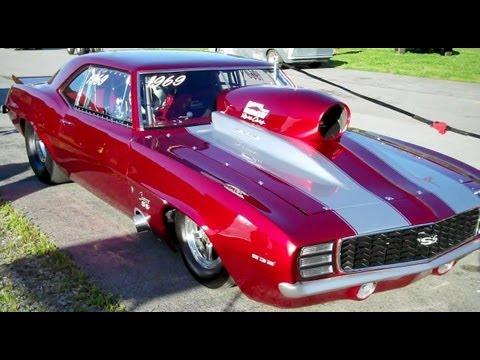 1969 Camaro Drag Car Youtube