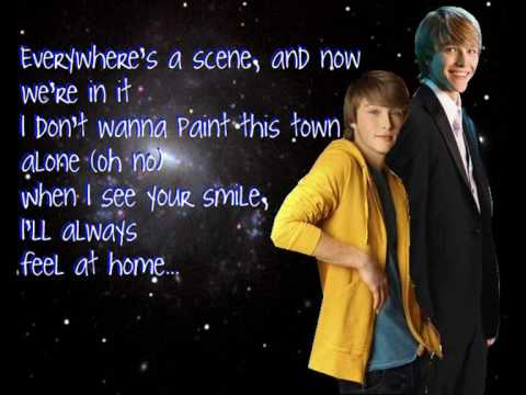 Sterling Knight- Something about the sunshine with lyrics Music Videos
