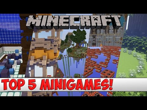Minecraft - TOP 5 Minigame Plugins of 2016 (Bukkit/Spigot)
