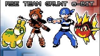 Pokémon Ruby, Sapphire and Emerald - Battle! Team Aqua/Magma Grunt [8bit]