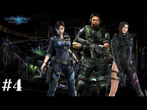 Resident Evil: Revelations. Серия 4 [И снова кошмар]