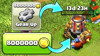 THE LAST EVER DEFENSE! COMPLETE ✅ - Clash Of Clans - GEAR UP MAX LEVEL!