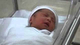new born baby elisha