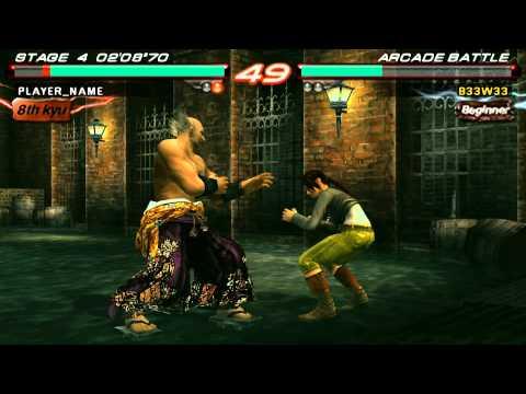 Tekken 6 (PSP Emulator) PPSSPP v0.9.1