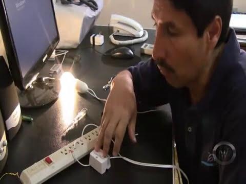 Instalacion de un foco con su interruptor.