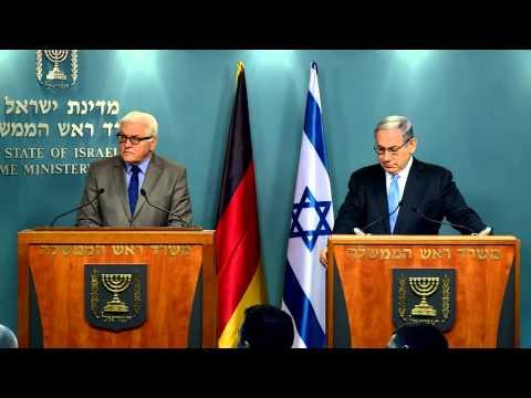 Statements by PM Netanyahu and German FM Steinmeier