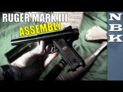Ruger Mark III Disassembly and Assembly