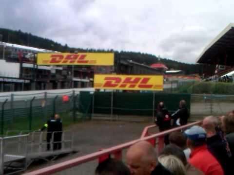 Belgium Formula 1 Silver 2 Tribune 2011