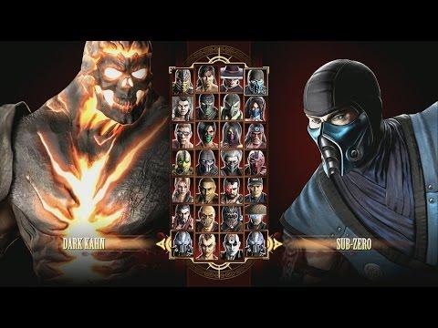 Mortal Kombat 9 Dark Kahn