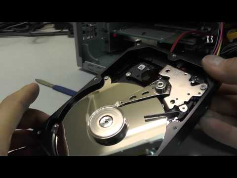 Замена блинов в жестком диске своими руками