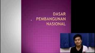 KBU Pengajian Malaysia: Dasar Pembangunan Nasional