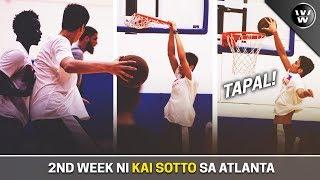 Ikalawang Linggo ni Kai Sotto sa Amerika   vs NCAA Players