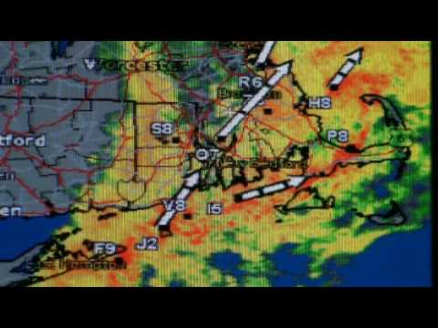 West Island Weather Station Radar Clip Oct 3, 2009