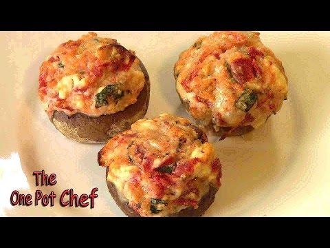 Stuffed Mushrooms - RECIPE