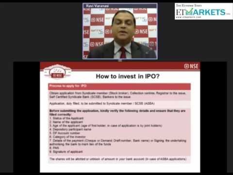 How to participate in an IPO/OFS issue - Ravi Varanasi