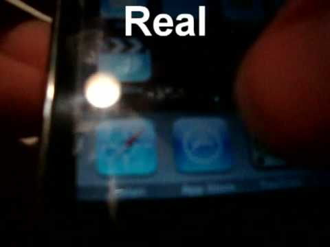 Fake VS Real iPod Touch 2nd Generation