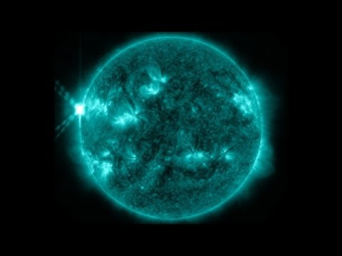 Thumbnail of video NASA | First X-Class Solar Flares of 2013