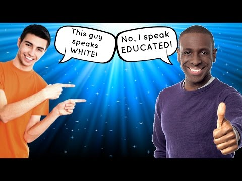 White People Talk Better Than Black People (Rant)