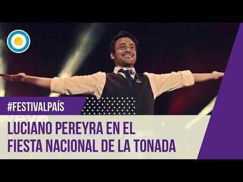 Festival Nacional De La Tonada 2015 - Luciano Pereyra - 11-02-15 video
