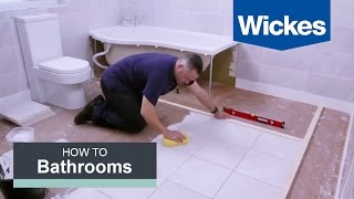 (17.2 MB) How to Tile a Bathroom Floor with Wickes Mp3