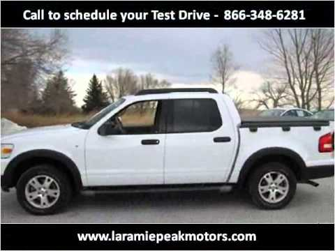 2007 Ford Explorer Sport Trac Used Cars casper WY