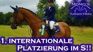 International 1,40m S-Springen PLATZIERT!! | Riesenbeck International | Momo's Turnier FMA #13 2018