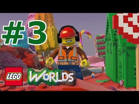 LEGO Worlds: Story Mode Walkthrough: Part 3 - Candy Construction Capers