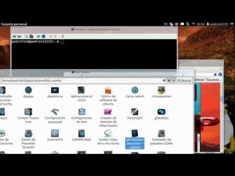 Unity y Gnome Shell 3.2. Ubuntu 11.10 - 12.04. problemas y soluciones (Compiz. cubo. paneles) 2-2