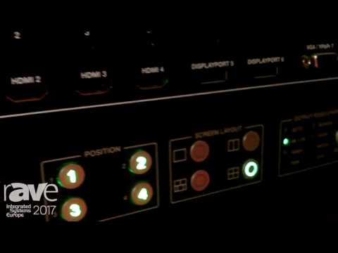 ISE 2017: DVIGEAR Shows Off DVI-3580a 4K MultiViewer Switcher/Scaler