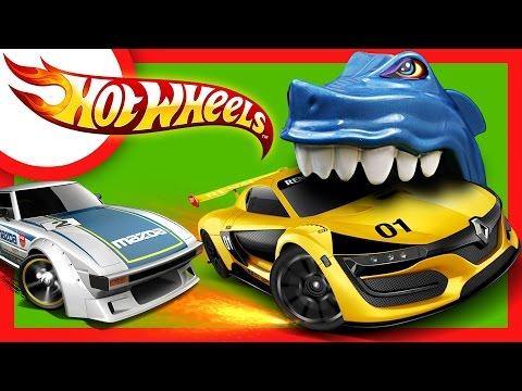 Сериал для мальчиков. Настоящие гонки Hotwheels.  Cерии подряд - Мультфильмы 2017