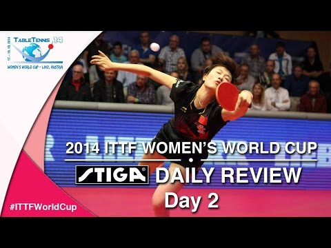 ITTF Women's World Cup Daily Review presented by STIGA - Day 2