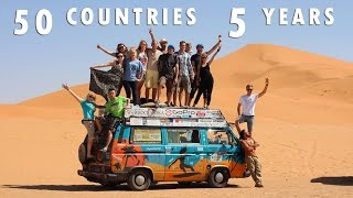 Bus Around The World - 50 countries in 5 years