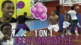 Jelly Fam 1 on 1s 🍇 Isaiah Washington, Jordan Walker, Pedro Marquez, and Markquis Nowell