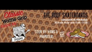 The Roof Skateboards X Vans Waffle