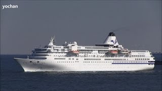 Passenger ship / Cruise ship: PACIFIC VENUS (Owner: Japan Cruise Line, IMO: 9160011) Enter in port
