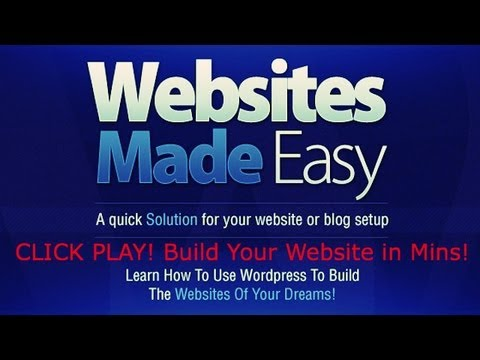 How To Make Your Own Website   Create Your Own Web Site With Wordpress!