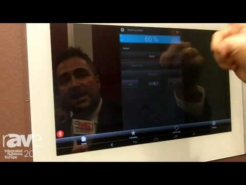 ISE 2017: Domonetio Highlights DIVUS Touchtone 19-Inch Smart Home Touch Panel