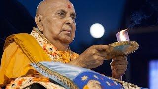 Sharad Purnima - Guruhari Darshan 7 Oct 2014, Sarangpur, India