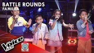 Jeirald, Dexsel, Vera, & Rhed - Baklay | Battle Rounds | The Voice Kids Philippines Season 4