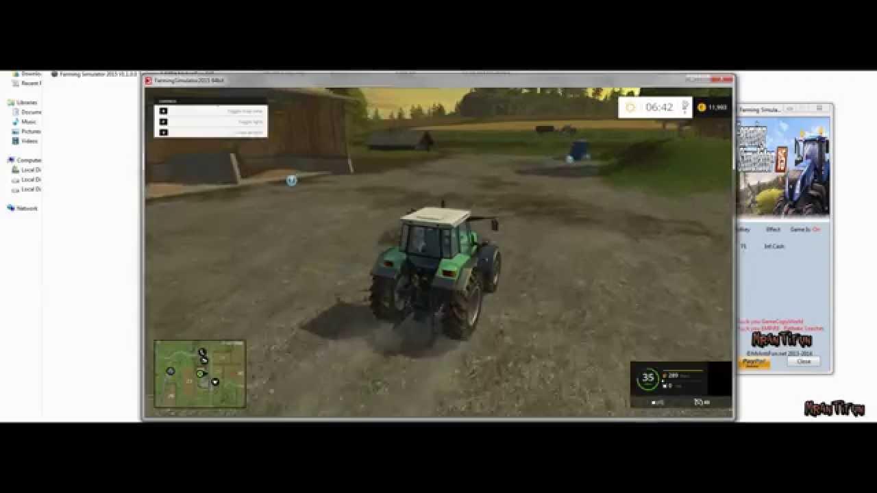 Тренер farming simulator 2015