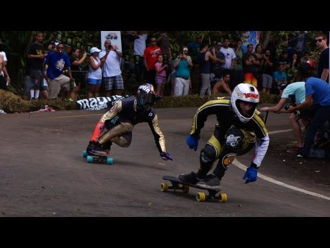 Puerto Rico Downhill: Guajataka 7 (2013) w/ Original Skateboards + Friends