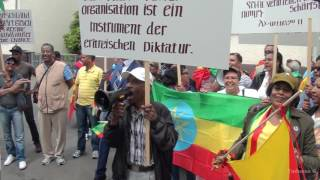 Ethiopians in Germany, Frankfurt chased Birhanu Nega
