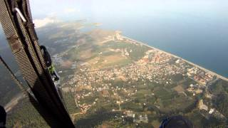 Paragliding Turkey Tahtali flight 6