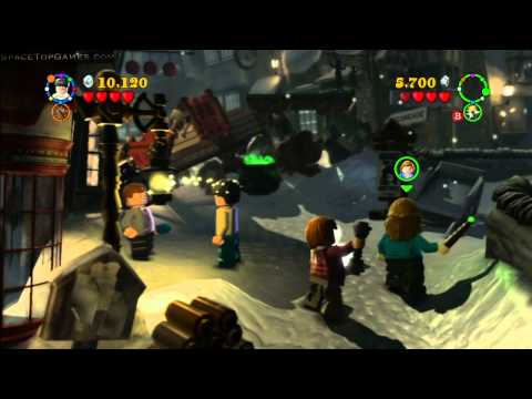 LEGO Harry Potter Years 5-7 Walkthrough Part 35 - Year 7 Part 2 - Back to School
