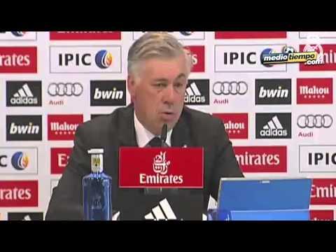 Es imposible callar a Blatter: Ancelotti